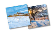 CX14221 - Tors, Dartmoor (6 Christmas packs)