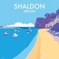 BB78073 - Shaldon, Devon (6 blank cards)
