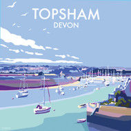 BB78074 - Topsham, Devon (6 blank cards)