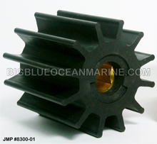 JMP FLEXIBLE IMPELLER #8300-01 (Actual Impeller Image) (Replaces Jabsco 17370-0001, Doosan 60.06804-0011)