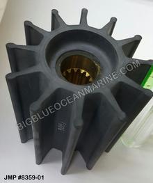JMP FLEXIBLE IMPELLER #8359-01 (Actual Impeller - 10 splines)