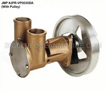 JMP #JPR-VP0030DA JMP VOLVO PENTA REPLACEMENT RAW WATER ENGINE COOLING PUMP (PUMP WITH PULLEY)