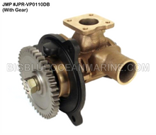 JMP #JPR-VP0110DB JMP VOLVO PENTA REPLACEMENT RAW WATER ENGINE COOLING PUMP (PUMP WITH GEAR)