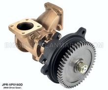 JMP #JPR-VP0160D JMP VOLVO PENTA REPLACEMENT RAW WATER ENGINE COOLING PUMP (PUMP WITH DRIVE GEAR)