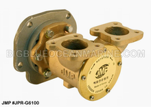 JMP #JPR-G6100 JMP DETROIT DIESEL REPLACEMENT RAW WATER ENGINE COOLING PUMP