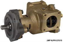 #JPR-S7619 JMP MARINE JOHN DEERE REPLACEMENT ENGINE COOLING PUMP SEAWATER / RAW WATER PUMP. Replacement for John Deere RE45458, Sherwood P1719