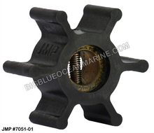 JMP FLEXIBLE IMPELLER #7051-02 (Actual Impeller Image)