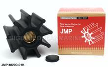 JMP FLEXIBLE IMPELLER #8200-02 (Actual Impeller Image)