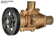 JMP #JPR-VP0060DA JMP VOLVO PENTA REPLACEMENT RAW WATER ENGINE COOLING PUMP (PUMP WITH PULLEY)