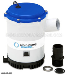 BILGE PUMP HEAVY DUTY 1750 GPH 12V SUBMERSIBLE