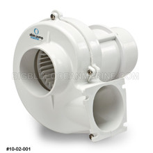 "FLANGE MOUNTED VENTILATION BLOWER 3"" 12V"
