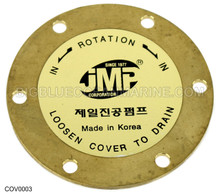 COV0003 - END COVER PLATE For JMP Marine JPR-NL10IP, JPR-NL10IP2