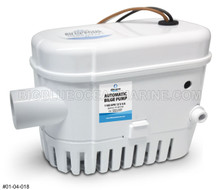 SUBMERSIBLE AUTOMATIC BILGE PUMP 1100 GPH 12V ALBIN PUMP MARINE