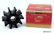 JMP FLEXIBLE IMPELLER #7072-01 (Actual Impeller Image)