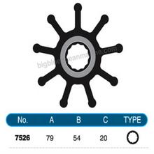 JMP FLEXIBLE IMPELLER #7526-01 (SPECS)
