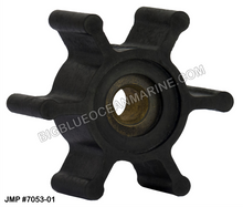 JMP FLEXIBLE IMPELLER #7053-01 (Actual Impeller Image)
