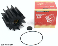 JMP FLEXIBLE IMPELLER KIT#8326-01K (Includes: Impeller, End Cap, O-Ring)