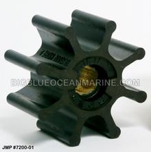 JMP FLEXIBLE IMPELLER #7200-01 (Actual Impeller Image)