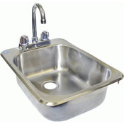 Drop-In Hand Sink GSW HS-1317IHG NEW #3857