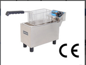 NEW Single Basket Counter Top Electric Deep Fat Fryer Uniworld UEF-061L #3870