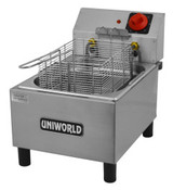 NEW 1 Basket Counter Top Electric Deep Fat Fryer UNIWORLD UF-1B #3873-OB