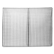 NEW 13x13 Fryer Screen Nickel Plated Stainless Steel Durable Thunder Group SLRACK1313 #3881