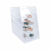 "NEW 14"" Acrylic Display 4 Tray Bakery Pastries Thunder Group PLDC002 #3890"
