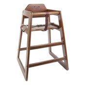 New Restaurant High Chair Child Seating Wood WDTHHC019A #3893