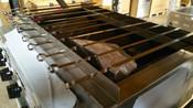"""60 cm Skewer for Kebab Broiler 23-1/2"""" Stainless Steel NSF #3882"""