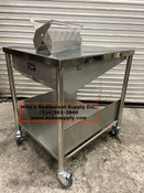 "NEW 28"" Donut Glazing Icing Table Stainless Steel GSW DN-TBLS #3894"