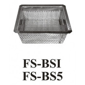 "Floor Sink 5"" Basket Stainless Steel GSW FS-BS5  NEW #3908"