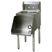 NEW 15x24 Blender Station & Hand Dump Sink GSW BS-1524G #3924-OB