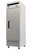 "New 1 Door 27"" Refrigerator Solid Stainless Steel Reach In Cooler NSF Atosa MBF8505GR #1932"