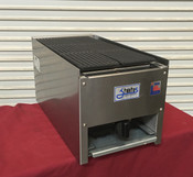 "NEW 12"" Lava Rock Char Broiler Gas Grill NSF Stratus SCB-12 #4095"