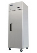NEW 1 Door Reach In Refrigerator Cooler Solid Stainless Steel NSF Atosa MBF8004GR #2210