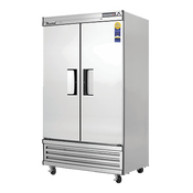 New 2 Door Everest Slim/Narrow Reach In Freezer EBNF2 NSF #4220