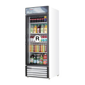 New Everest 1 Glass Door Merchandiser Refrigerator EMGR24 #4225 NSF Cooler