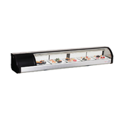 "71"" Sushi Case Counter Top Display ESC71L (NEW) #3142 FREE SHIPPING"