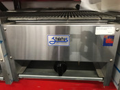"NEW 18"" Lava Rock Char Broiler Grill NSF Stratus SCB-18 #4494"