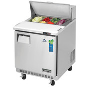"NEW 1 Door 28"" Refrigerated Sandwich Prep Table Stainless Steel Cooler NSF Everest EPBNR1 #3119"