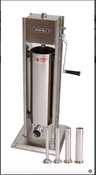 NEW 15 LB Deluxe Sausage Stuffer & Nozzles Uniworld USSC-DL7 Stainless Steel #4547