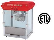 NEW Popcorn Machine Commercial 8 oz Kettle UNIWORLD UPCM-8E #4556