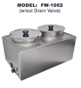 Double Food Warmer UNIWORLD FW-1002 (NEW) #4595
