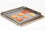 "NEW 24"" Griddle Flat Top Plancha & Grease Trap Uniworld UGT-MC24 #4600"