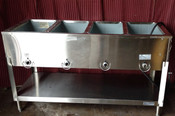 NEW 4 Well Electric Steam Table Duke E304 AEROHOT #1199