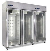 NEW 3 Glass Door Refrigerator NSF Cooler Hoshizaki R3A-FG Reach In #5732