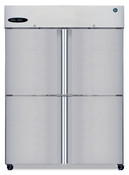 NEW Double Split Half Door Freezer NSF Reach In Hoshizaki F2A-HS Solid #5737