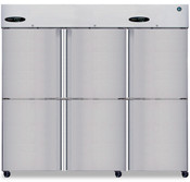NEW Triple Split Half Door Freezer NSF Hoshizaki F3A-HS Solid Stainless Steel #5738