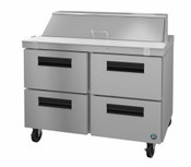 "48"" 4 Drawer Refrigerated Mega Top Prep Table SR48A-12D4 #5753"