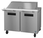"48"" 2 Door Refrigerated Mega Top Prep Table SR48A-18M #5755"